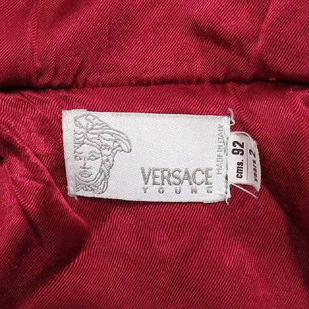 Versace(베르사체) 아동용 멀티그레이컬러 후드 반코트