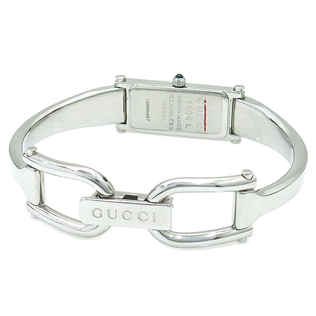 Gucci(구찌) 1500L 1포인트 다이아 스틸 팔찌형 시계