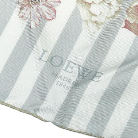Loewe(로에베) 100% 실크 스카프