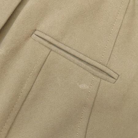 ELLE(엘르) 베이지 컬러 집업 자켓 (배색 : 소가죽 100)
