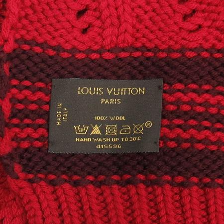 Louis Vuitton(루이비통) 100% 울 머플러 + 모자 세트 이미지6 - 고이비토 중고명품