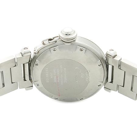 Cartier(까르띠에) PASHA(파샤) 라운드 35MM 오토매틱 스틸밴드 남성용시계 [부산센텀본점] 이미지5 - 고이비토 중고명품