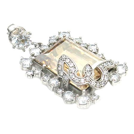 J.ESTINA(제이에스티나) 925(실버) 큐빅 장식 귀걸이