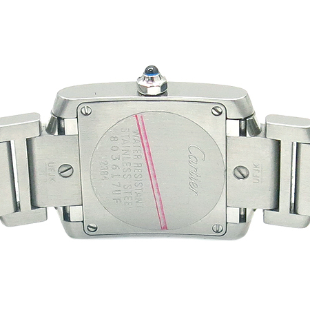 Cartier(까르띠에) W51008Q3 탱크 S 사이즈 스틸 여성용 시계