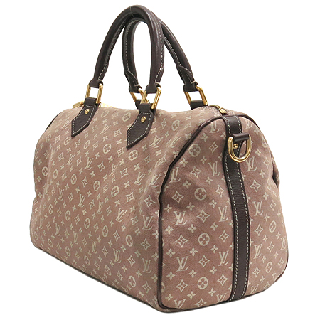 Louis Vuitton(루이비통) M56704 모노그램 이딜 캔버스 스피디 세피아 30 토트백 이미지3 - 고이비토 중고명품