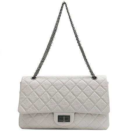 Chanel(샤넬) 2.55 빈티지 클래식 점보 사이즈 메탈 체인 숄더백 [부산센텀본점] 이미지2 - 고이비토 중고명품