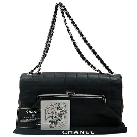Chanel(샤넬) 램스킨 마뜨라쎄 퀄팅 은장 체인 숄더백 [부산본점]