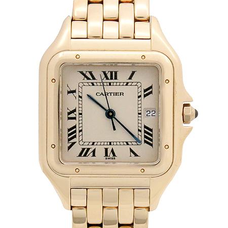 Cartier(까르띠에) W25014B9 18K 금통 팬더 남성용 시계 이미지2 - 고이비토 중고명품