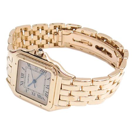 Cartier(까르띠에) W25014B9 18K 금통 팬더 남성용 시계 이미지3 - 고이비토 중고명품