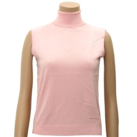 Polo Ralphlauren GOLF(폴로) 실크&캐시미어혼방 핑크 컬러 가디건 (터틀넥 나시SET) 이미지2 - 고이비토 중고명품