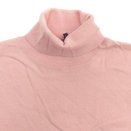 Polo Ralphlauren GOLF(폴로) 실크&캐시미어혼방 핑크 컬러 가디건 (터틀넥 나시SET) 이미지3 - 고이비토 중고명품