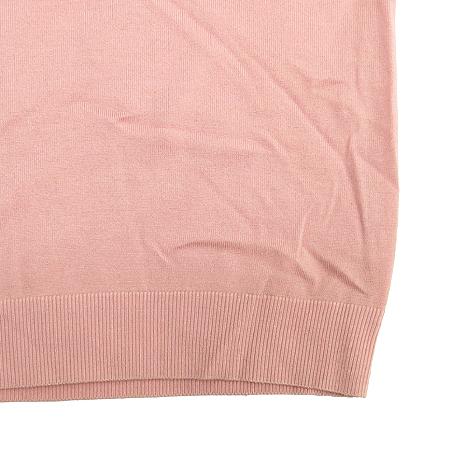 Polo Ralphlauren GOLF(폴로) 실크&캐시미어혼방 핑크 컬러 가디건 (터틀넥 나시SET) 이미지4 - 고이비토 중고명품