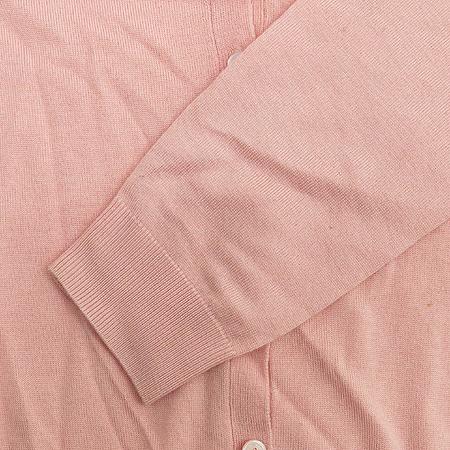 Polo Ralphlauren GOLF(폴로) 실크&캐시미어혼방 핑크 컬러 가디건 (터틀넥 나시SET) 이미지6 - 고이비토 중고명품