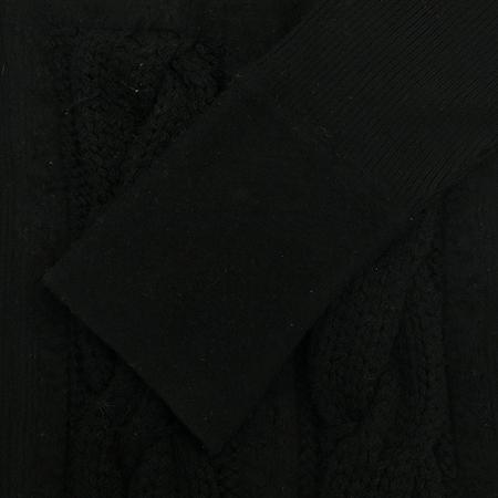 Hugo Boss(휴고보스) 블랙 컬러 스퀘어넥 니트
