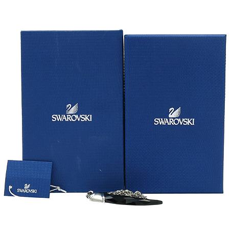 Swarovski(스와로브스키) 1111592 블랙 크리스탈 페이즈 팬던트 목걸이