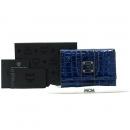 MCM(엠씨엠) 1032090020407 블루 크로커다일 패턴 페이던트 중지갑 [강남본점]