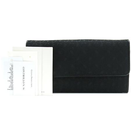 Celine(셀린느) 블라종 로고 자가드 장지갑
