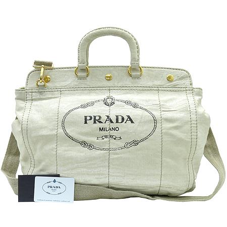 Prada(프라다) BN2028 밀라노 빅로고 패브릭 2WAY