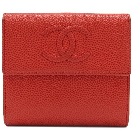 Chanel(샤넬) A48650 COCO로고 2013 S/S 시즌 컬러 캐비어 반지갑 [명동매장] 이미지2 - 고이비토 중고명품
