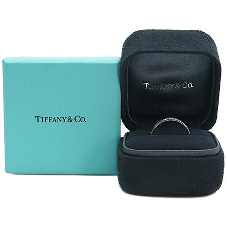 Tiffany(티파니) PT950(플레티늄) 3MM TIFFANY&CO 이니셜 반지 - 12호