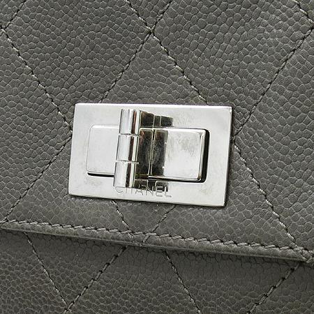 Chanel(샤넬) 2.55 캐비어스킨 원포켓 숄더백 [압구정매장]