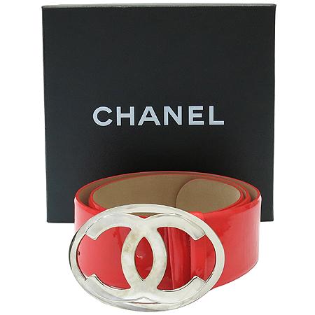 Chanel(샤넬) 은장 COCO로고 빅 버클 페이던트 여성용 벨트 [압구정매장]