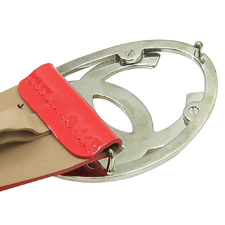 Chanel(샤넬) 은장 COCO로고 빅 버클 페이던트 여성용 벨트 [압구정매장] 이미지5 - 고이비토 중고명품