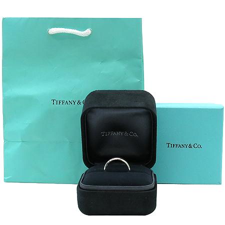 Tiffany(티파니)  PT950(플레티늄) 루시다 4.5mm 웨딩 밴드 반지 - 13호