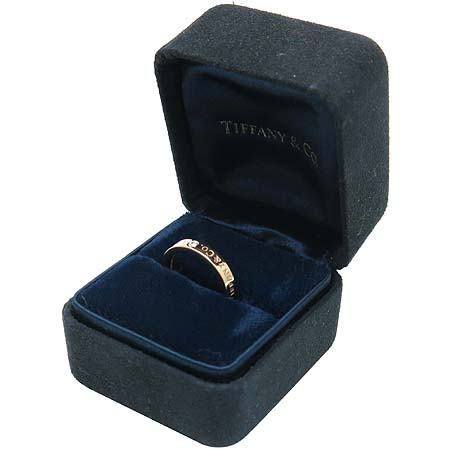 Tiffany(티파니) Tiffany(티파니) 18K(750) 핑크골드 TIFFANY & CO. 3포인트 다이아 반지 -5호