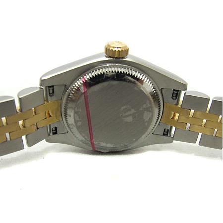 Rolex(로렉스) 179173 18K 콤비 10포인트 다이아 컴퓨터판 DATEJUST(데이트 저스트)여성용 시계
