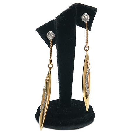 Swarovski(스와로브스키)  크리스탈 링 장식 귀걸이