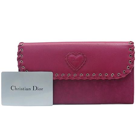 Dior(크리스챤디올) NYV43016 P6 퍼플 칼라 장지갑