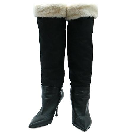 BALMAIN (발망) 블랙 컬러 여성용 롱 부츠