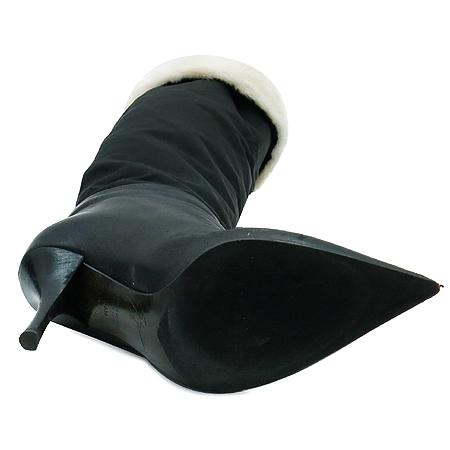 BALMAIN (발망) 블랙 컬러 여성용 롱 부츠 이미지2 - 고이비토 중고명품