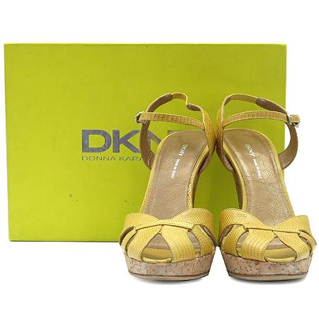 DKNY(도나카란) DAHLIA 옐로우 앵클스트랩 오픈토 여성용 샌들