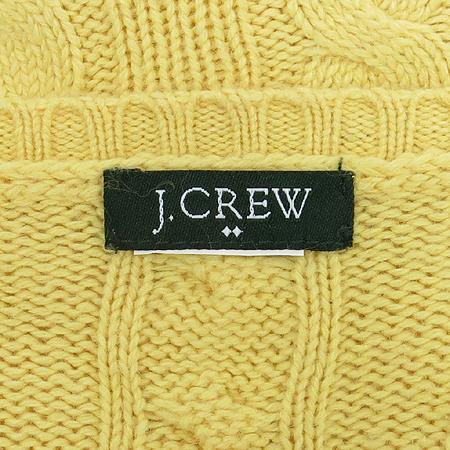 JCREW(제이크루) 옐로우컬러 꽈베기 니트