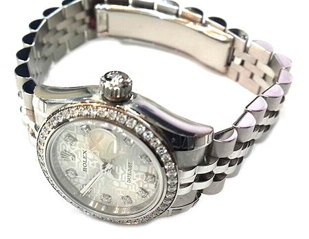Rolex(로렉스) 179384 베젤 다이아 10포인트 컴퓨터판 스틸 DATE JUST(데이트 저스트) 여성용 시계 [압구정매장]