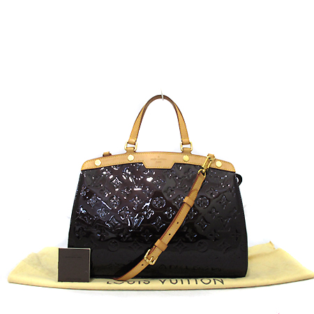 Louis Vuitton(루이비통) M91619 모노그램 베르니 아마랑뜨 브레아 MM 2WAY [부천 현대점]