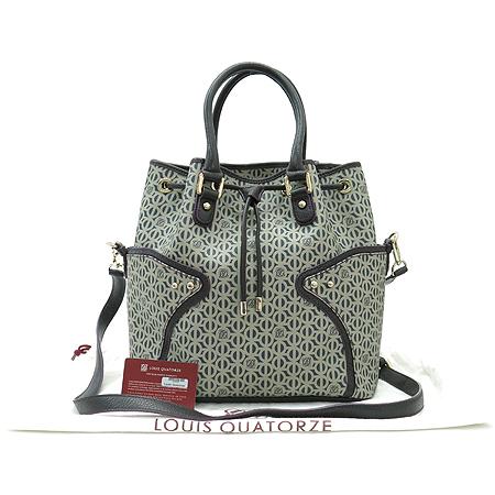 Louis_Quatorze (루이까또즈) SD267BR PVC 로고 래더 트리밍 2WAY