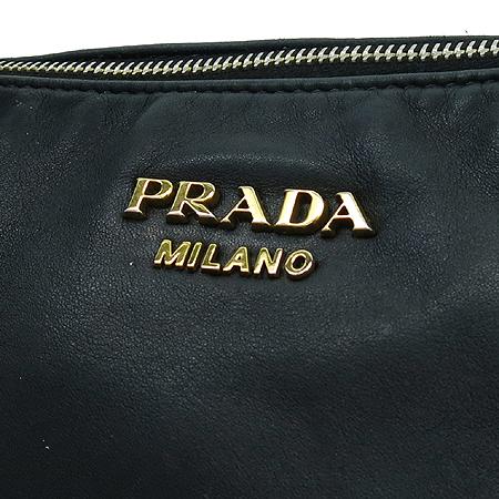 Prada(프라다) BR4281 금장 로고 장식 블랙 레더 2-WAY 이미지7 - 고이비토 중고명품