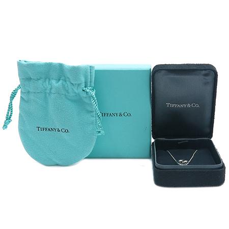 Tiffany(티파니) 18K 화이트 골드 엘사퍼레티 러빙 하트 목걸이
