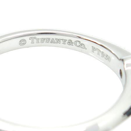 Tiffany(티파니) PT950 1포인트 다이아 웨딩 반지-9.5호