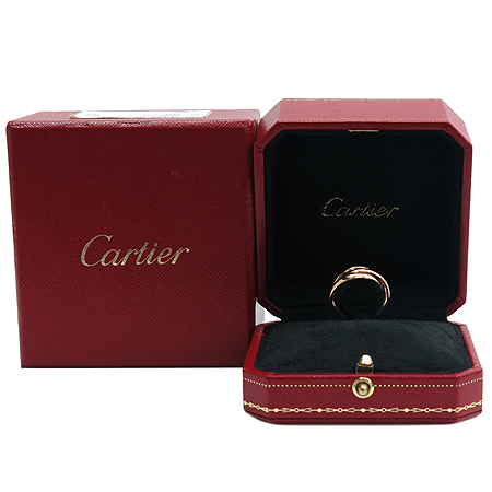 Cartier(까르띠에) B40861 트리니티 18K 반지 1포인트 옵션 다이아 반지 - 9호