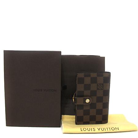 Louis Vuitton(루이비통) N61674 다미에 에벤 캔버스 프렌치퍼스 중지갑 [부천 현대점]