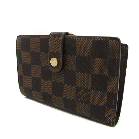 Louis Vuitton(루이비통) N61674 다미에 에벤 캔버스 프렌치퍼스 중지갑 [부천 현대점] 이미지3 - 고이비토 중고명품