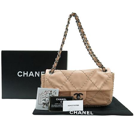 Chanel(샤넬) A34327Y01969 핑크 와일드 스티치 은장 체인 숄더백