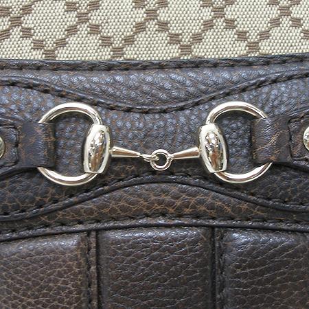 Gucci(구찌) 247285 은장 간치니 장식 패브릭 토트백 [부산센텀본점]