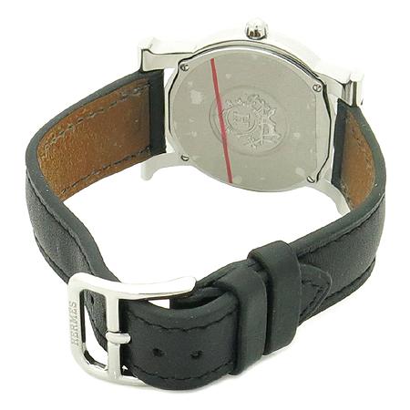 Hermes(에르메스) HR1.510 H-OUR(H아워) 라운드 스틸 여성 시계