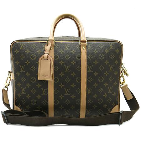 Louis Vuitton(루이비통) M40223 모노그램 캔버스 포르테 다큐먼트 보야지 GM 토트백 + 숄더 스트랩
