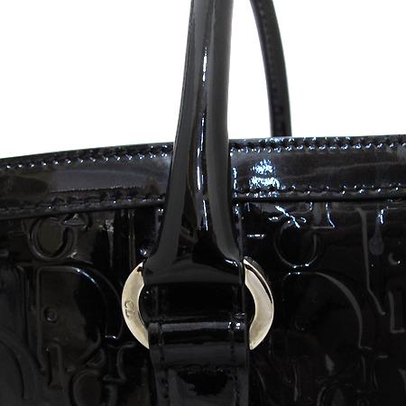 Dior(크리스챤디올) 블랙 페이던트 쇼퍼 숄더백 [부천 현대점]